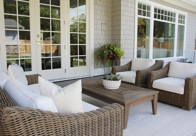 Restoration Hardwarw Chairs Beautiful Homes Of Instagram Patio