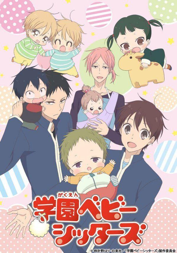 Image result for Gakuen Babysitters anime pinterest