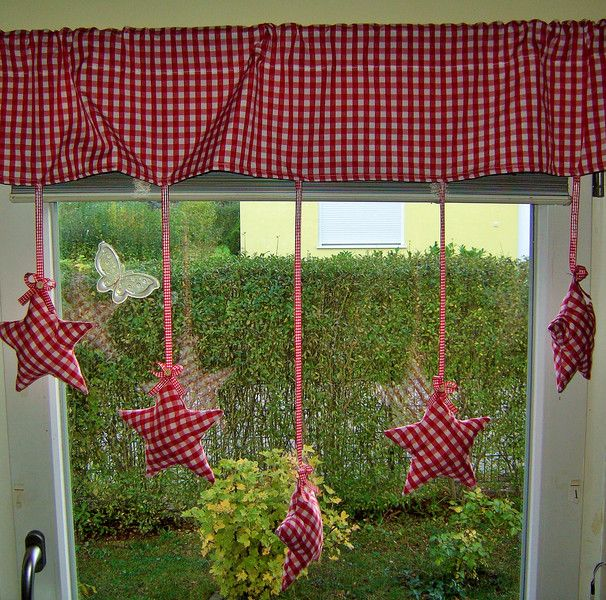 Gardine Sternenhimmel Scheibengardine, Gardinen und Dawanda - deko gardinen wohnzimmer