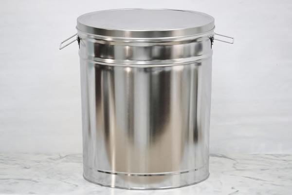 Lard Can Galvanized Buckets Bucket With Lid Metal Bucket