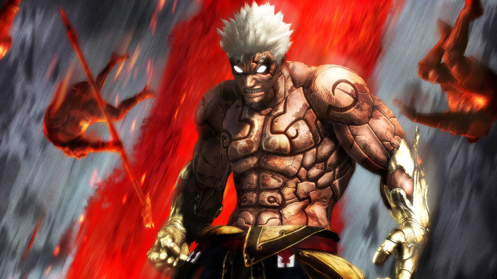Asuras Wrath Asura Vs Yasha Wallpaper Hd Wallpaper Jeux Video Asura S Wrath Dark Souls 2 Wrath