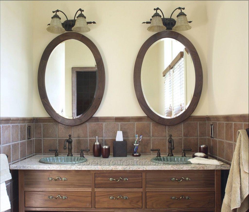 Oval Badezimmer Spiegel Ovaler Badezimmer Spiegel Wenn Man