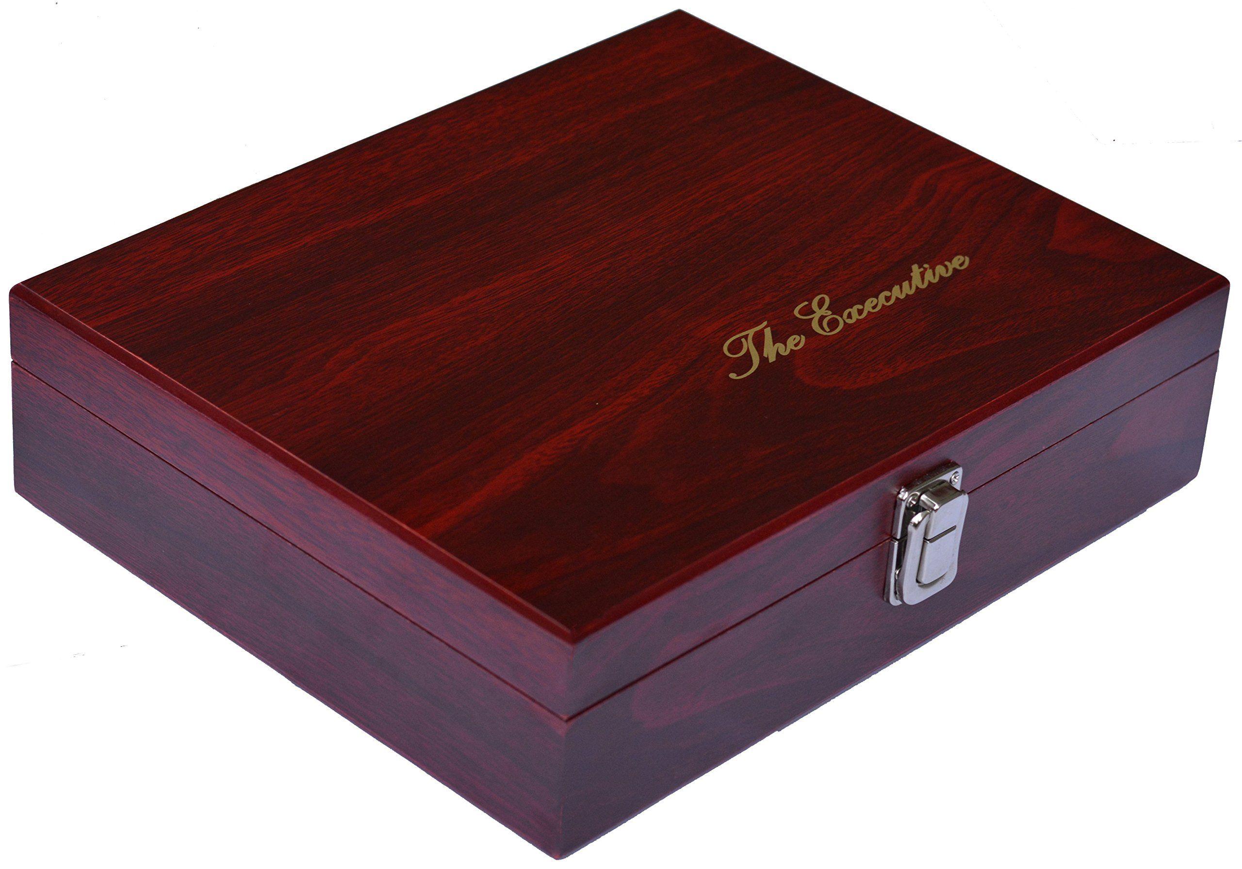 Wine Gift Set 9 Piece Wine Accessories Set Includes Wine Aerator Rabbit Lever Corkscrew Elegant Black Gift Bo Wine Gift Set Wine Accessories Wine Box