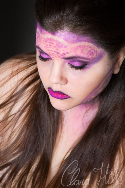Miss Violet - Clara Hill Photography Make Up By Sarah McNutt