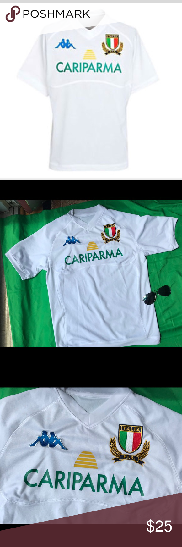 Italian Kappa Rugby Away Jersey Rugby Jersey Rugby Tee Shirts