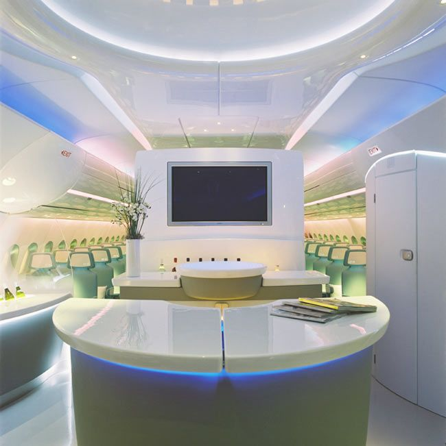 Airbus A380 Interior Private: Military And Commercial Aircraft