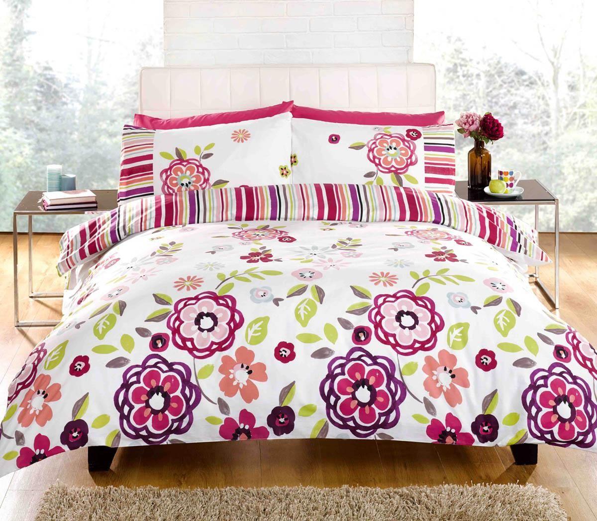 Lottie Printed Duvet Set Pink Luxury Duvet Covers Cheap Uk