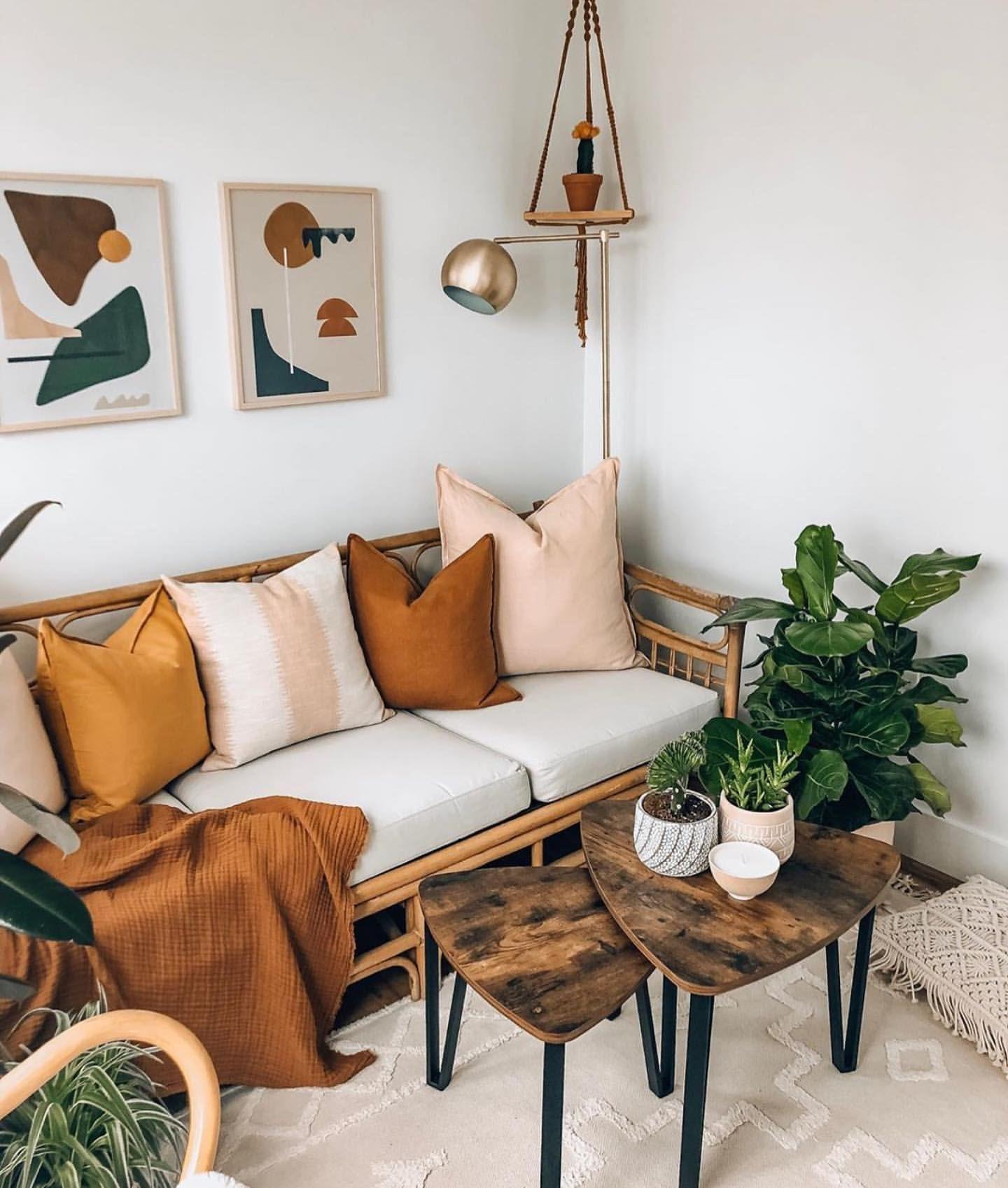 Pin On Living Room Decor Ideas #orange #living #room #accents