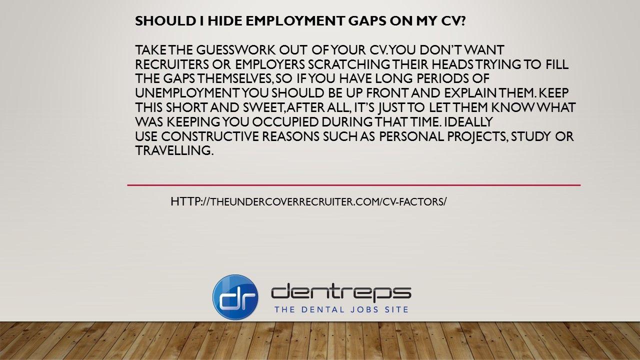 Unemployment Resume Pindentreps  On Dental Resume  Pinterest  Dental