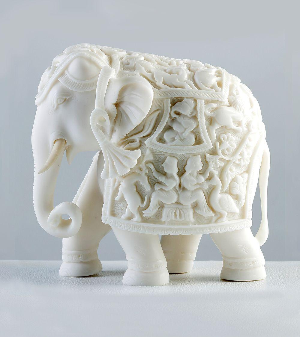 Pin By Nicole Berry On Elephants Elephant Ornament Elephant Decor Ceramic Elephant