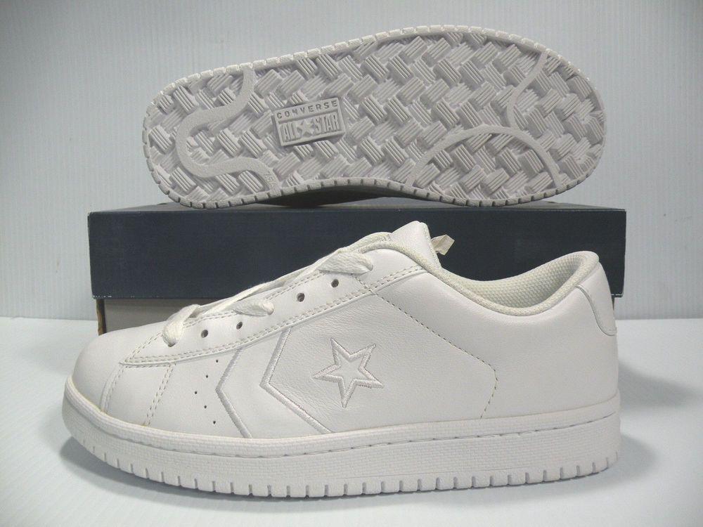 6729c4030e5f95 Converse Ev Pro Ox Low White Vintage Shoes 1J067 Men s Size 6.5 Women Size  8  CONVERSE  Athletic