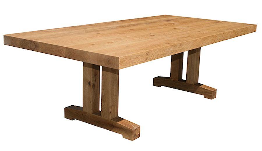 Sopwell Oak Barn Table, Oak Barn Furniture