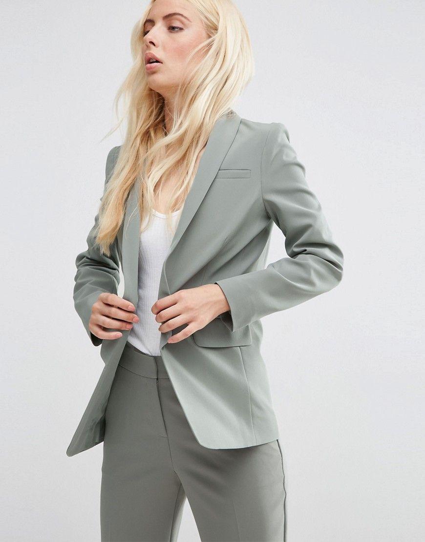 Womens Edge To Edge Tailored Jacket