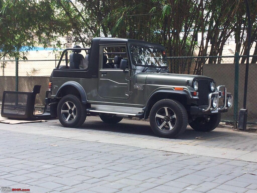 Mahindra Thar Italian Open Top Mahindra Thar Jeep Cars