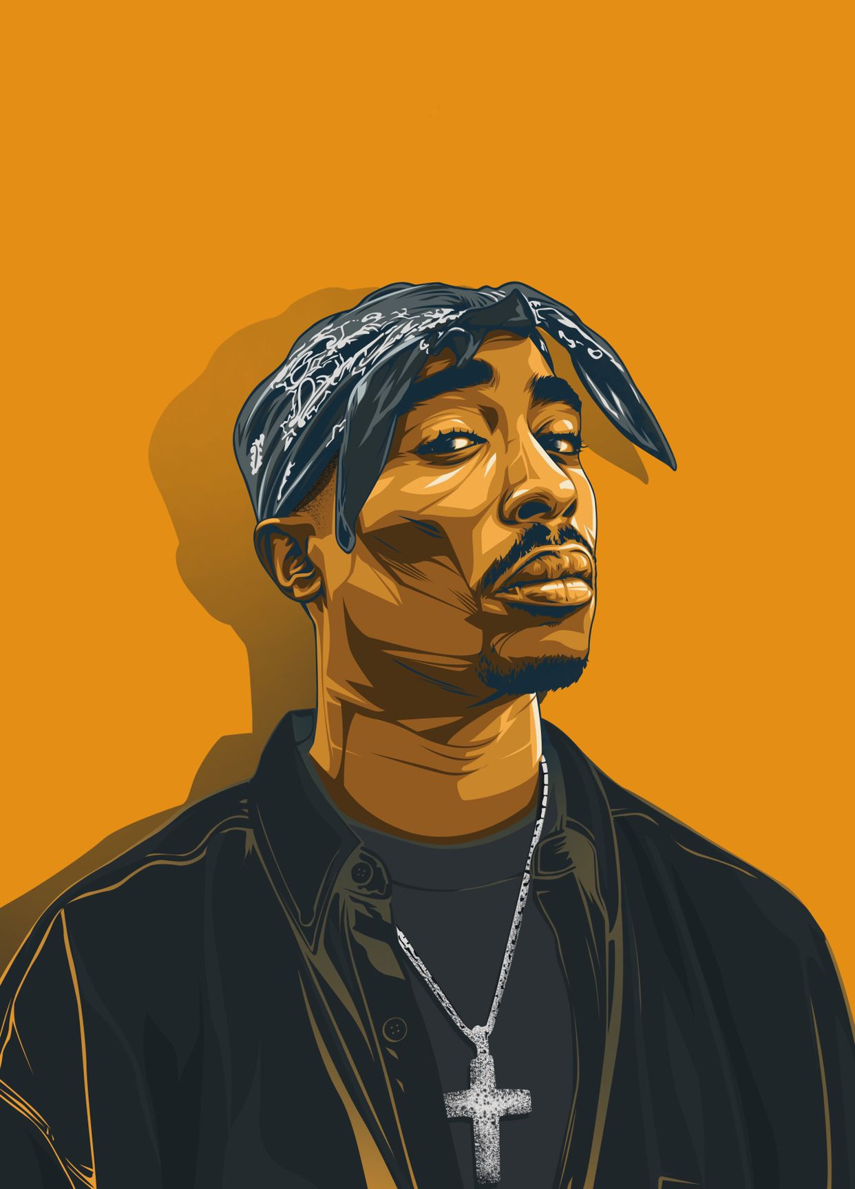 Credit To Original Creators Iphone Xs Max Hip Hop Art Tupac Wallpaper Tupac Art