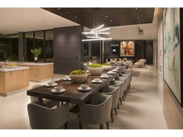 N Clifwood Ave In 2020 Kitchen Interior Luxury Dining Room