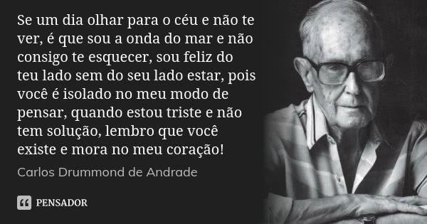 Carlos Drummond De Andrade Bianca Pinterest
