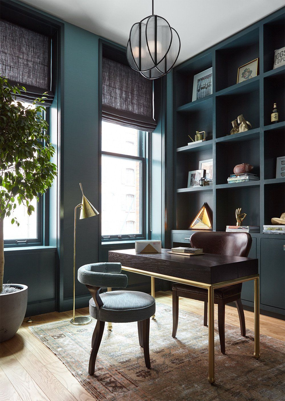 A Stately Study Interior Design By Consort Photo Reid Rolls