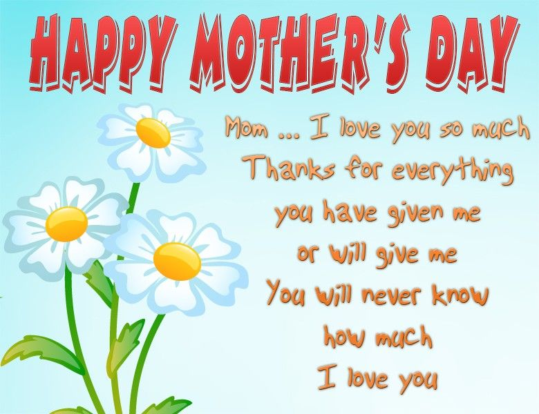 Flowers And Quotes Happy Mothers Day Cards Amazing