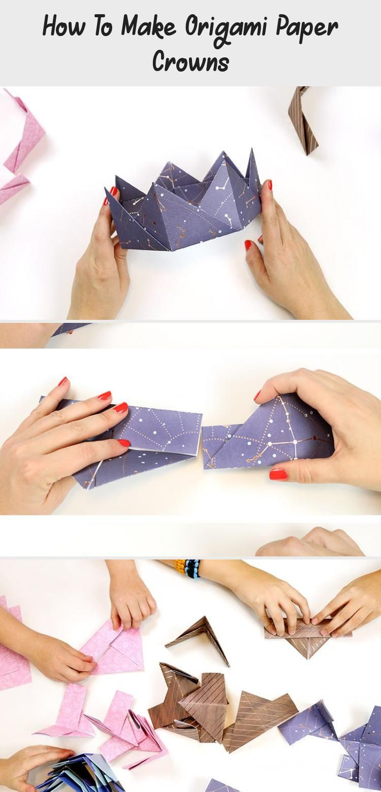 Photo of Origami Crown Tutorial: Schritt für Schritt – Consumer Crafts #origamiBookmark #origami …