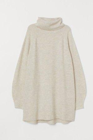 Long Turtleneck Sweater #leopardshoesoutfit