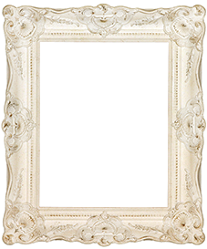 Antique White Ornate Gorgeous Shabby Chic Picture Frame Wholesale
