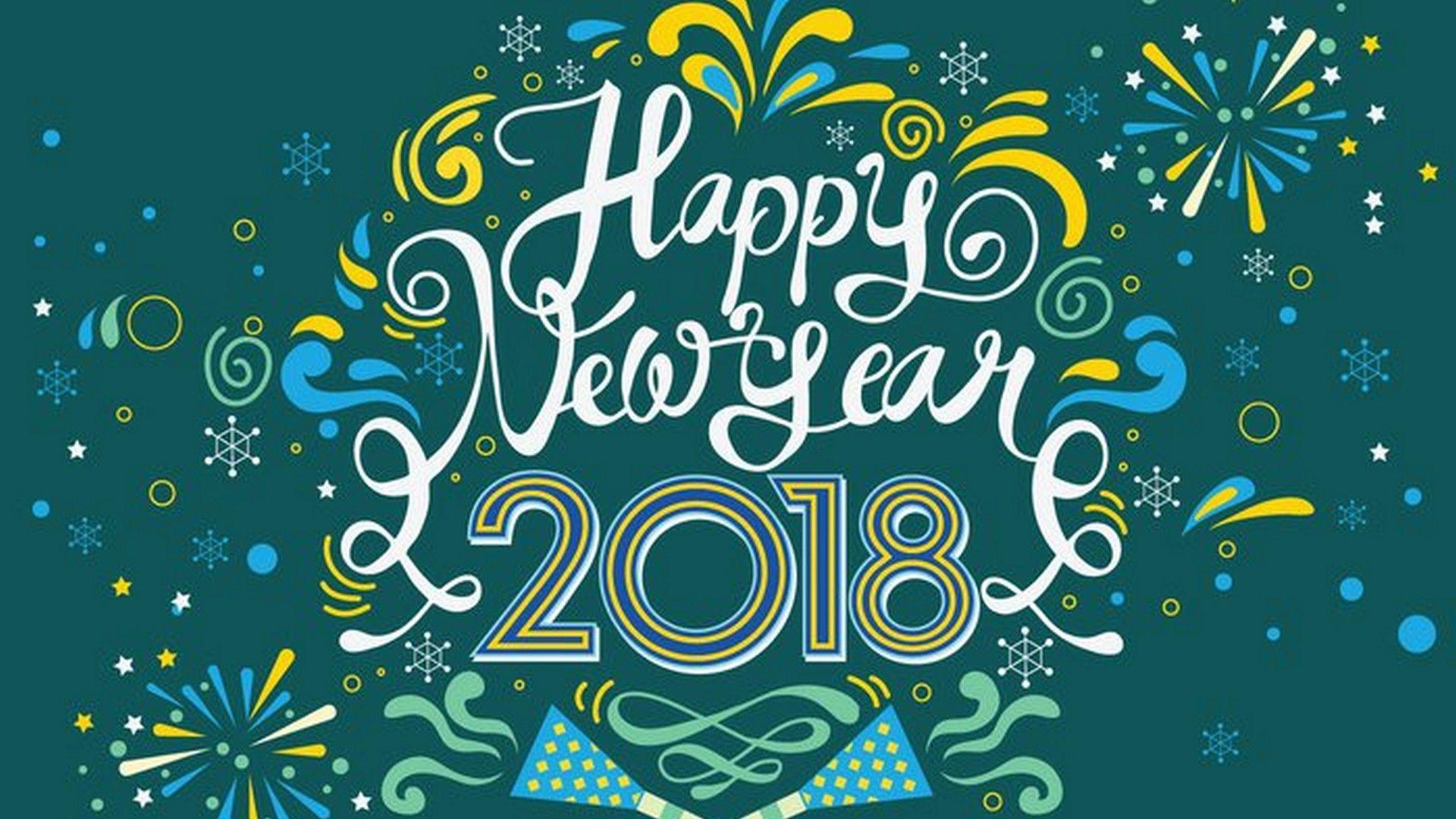 happy new year 2018 wallpaper best wallpaper hd