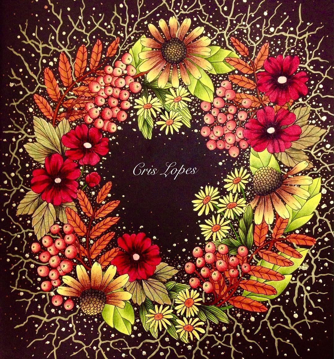 Blomster Mandala Coloring Book | Coloring Flowers | Pinterest ...