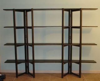 how to for collapsible shelves     Nomadic Shop  booth ideas     how to for collapsible shelves