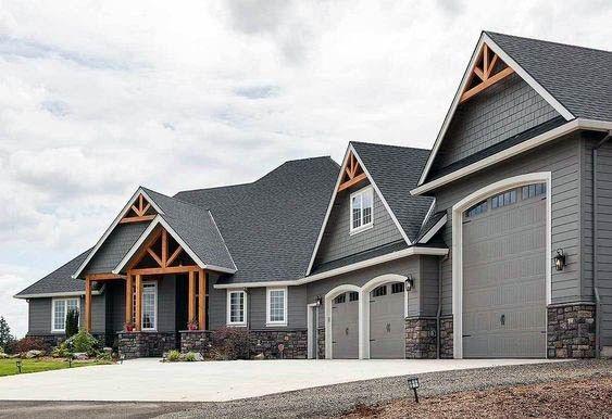 Top 50 Best Exterior House Paint Ideas - Color Designs