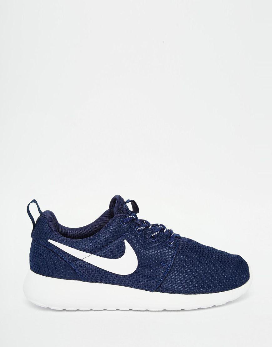 Imagen 2 de Zapatillas de deporte azul marino medianoche Roshe One de Nike
