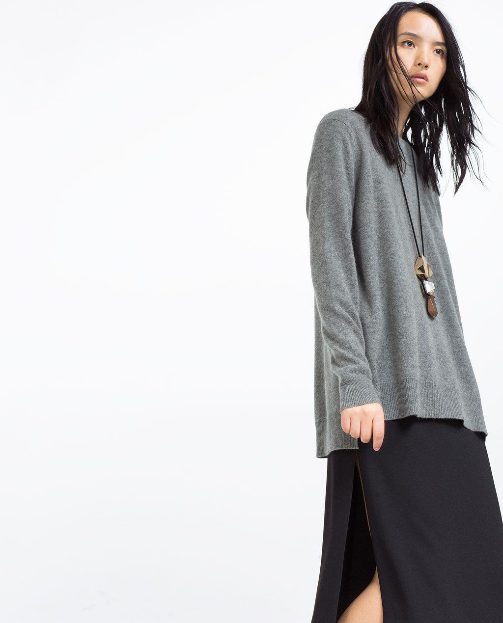 Billede 3 af OVERSIZE CASHMERE SWEATER fra Zara | Tøj | Pinterest ...