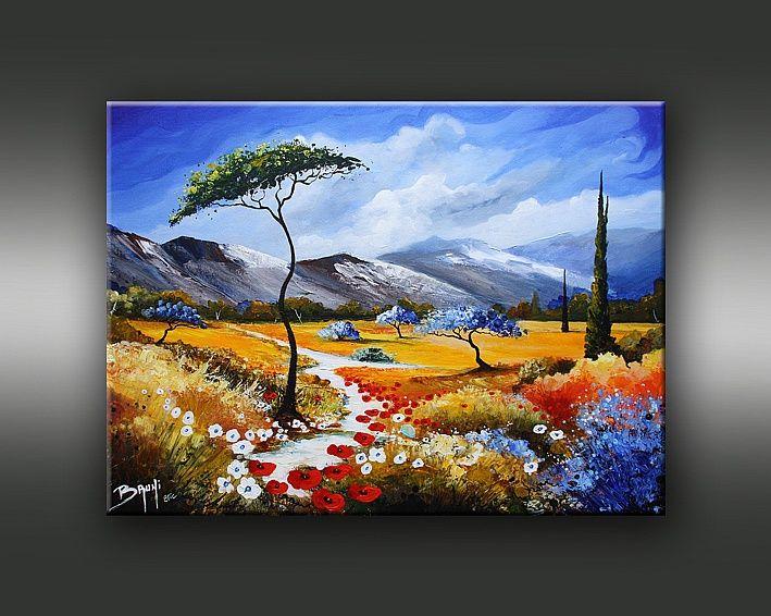 Galerie de peinture de l'artiste peintre BRUNI. Exposition ...