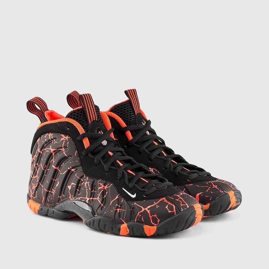 5d7083a8e61 Nike foamposites black and orange