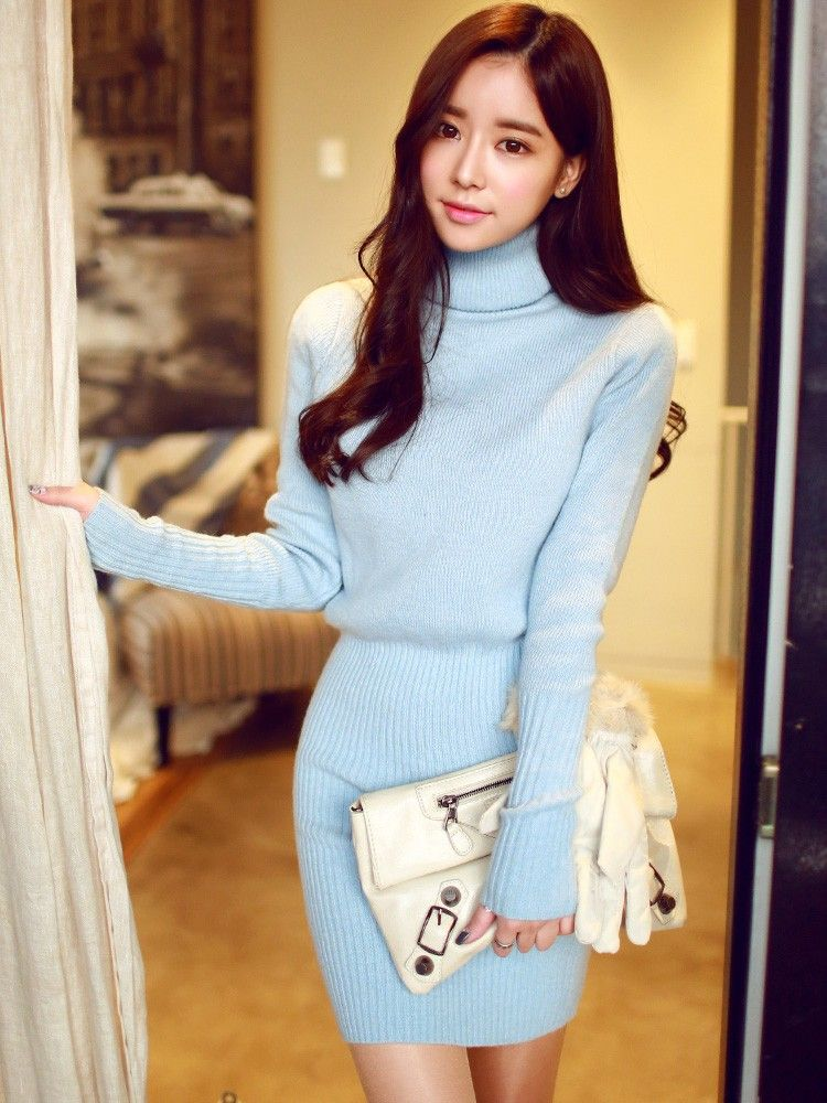 fall and winter korean slim ulzzang style clothes fashion