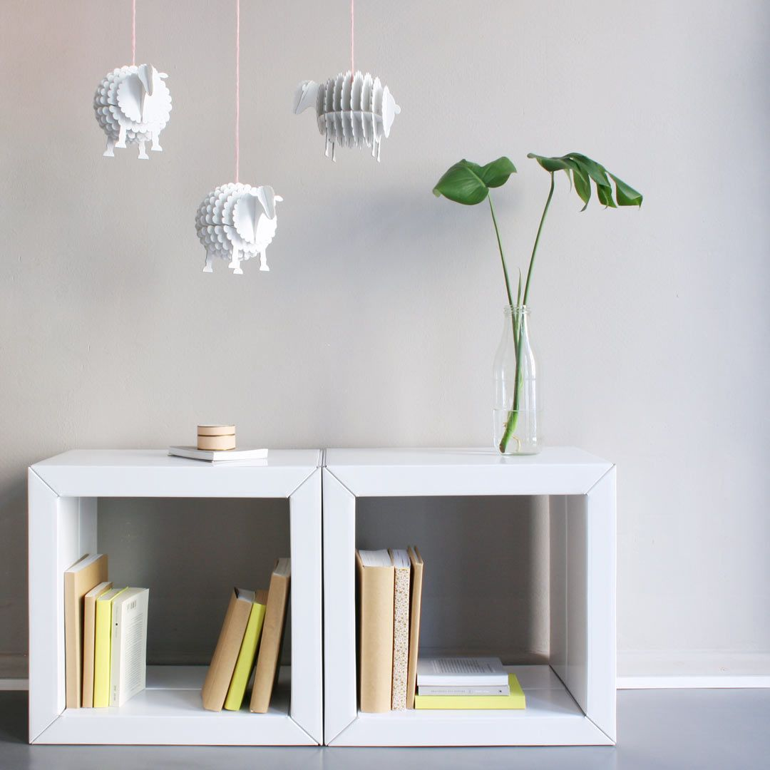 Regal Element Mittel 4 Regalwürfel Weiß Möbel Aus Pappe Regal Regalwürfel Weiß