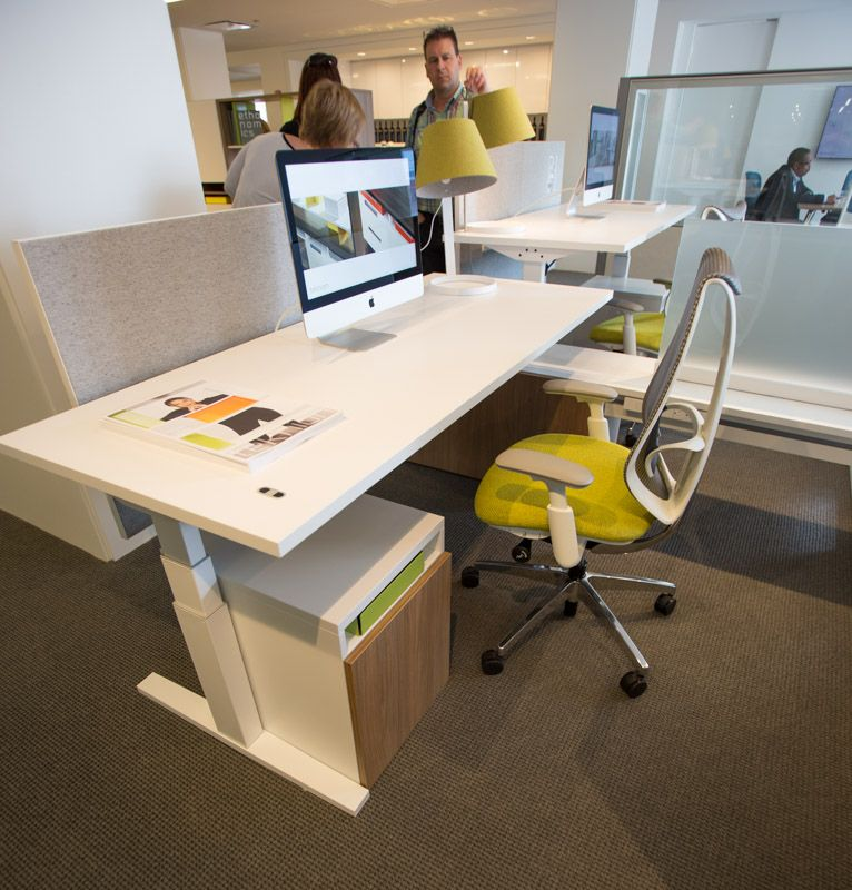 Neocon 2015 Teknion Showroom Tour Ispace Furniture Adjustable Height Desk Office Solutions Chair Design