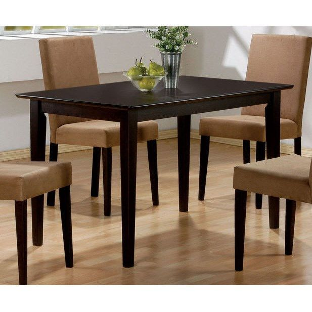 Coaster Furniture 100491 Mix and Match Dining Table in Cappuccino
