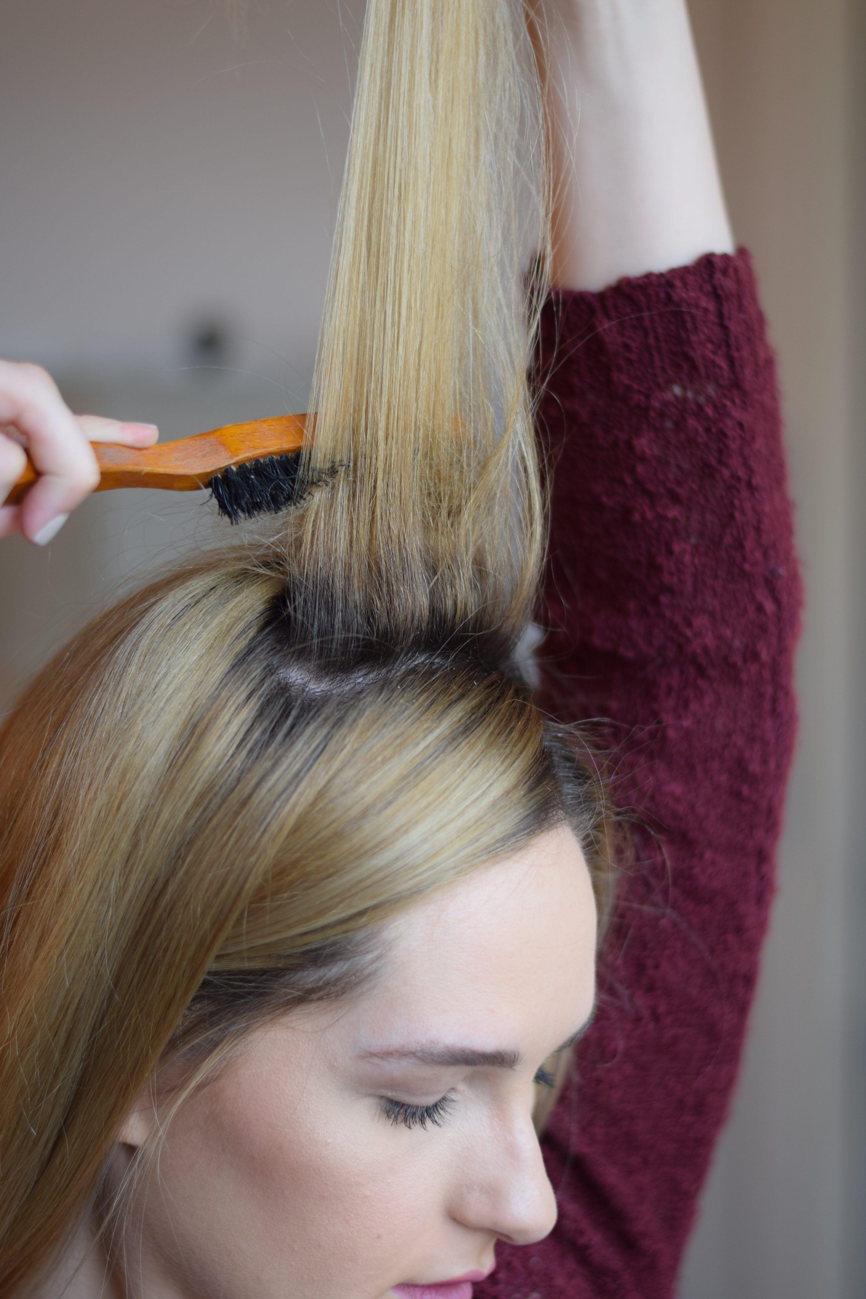 Teased Ponytail Tutorial | Teased ponytail, Ponytail ...