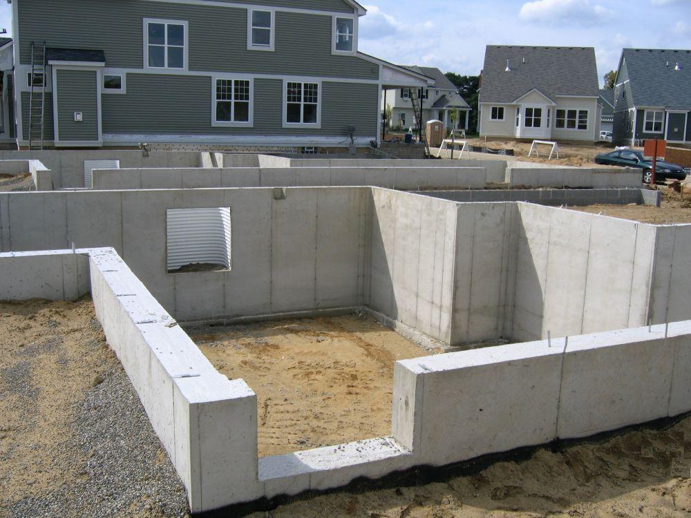 Fenton Poured Walls Basement Foundation Patio Concrete