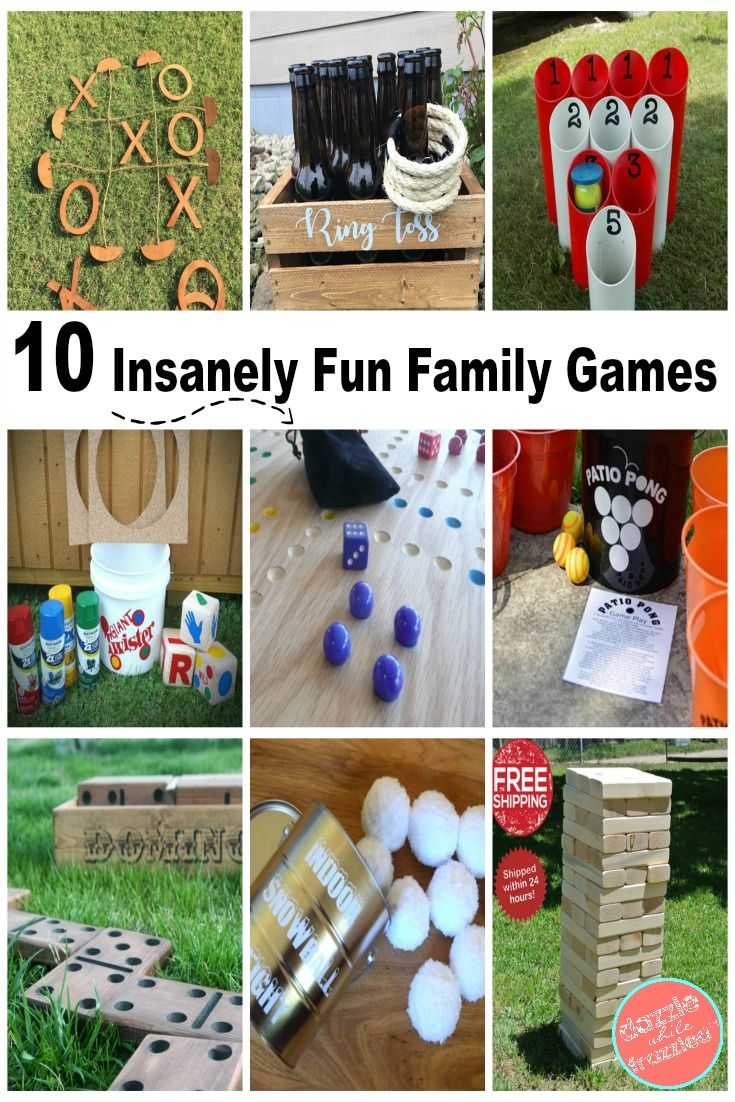 10 Insanely Fun Games to Play as a Family Indoor wedding