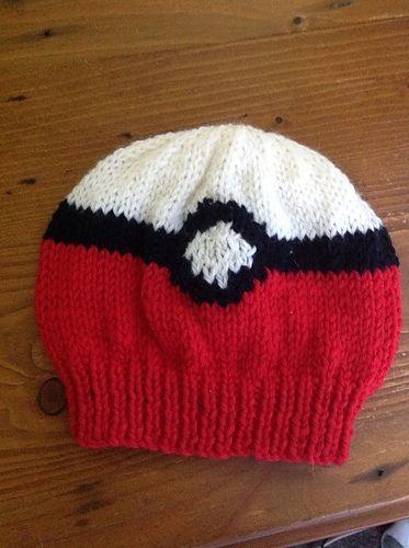 162975296 Pokemon Pokeball Beanie pattern by The Knit Guru | Knitting - my ...