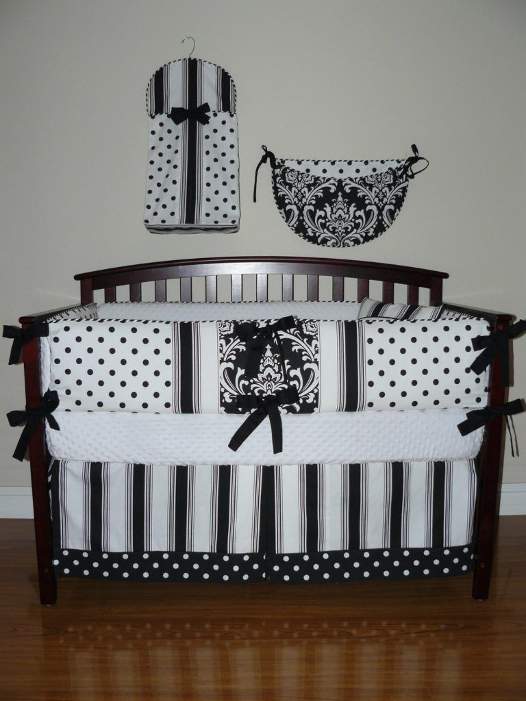 Black And White Nursery Bedding Sets