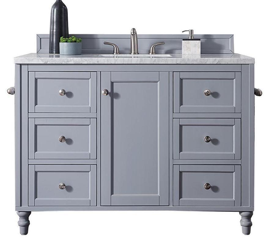 48 Copper Cove Encore Silver Gray Single Sink Bathroom Vanity