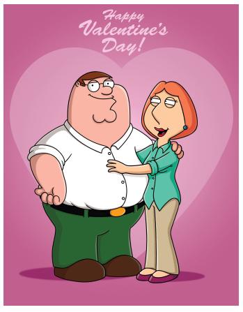 family guy valentine | film/tv related valentines | pinterest, Ideas