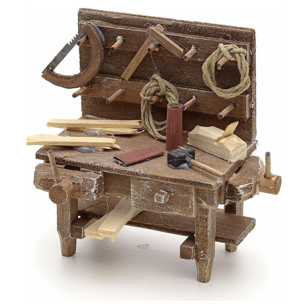 Mesa del carpintero alto pesebre Nápoles   Los carpinteros, Venta ...