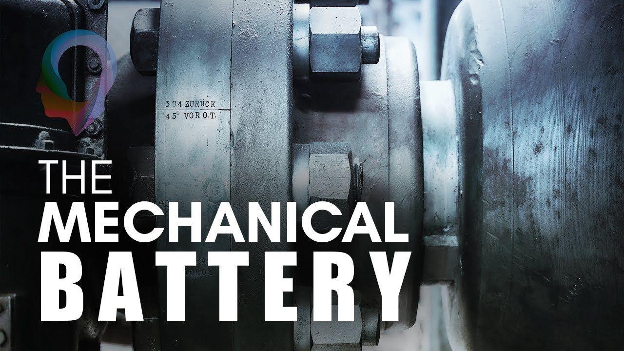 The Mechanical Battery Youtube Flywheel Energy Storage Storage System Design Mechanical Energy