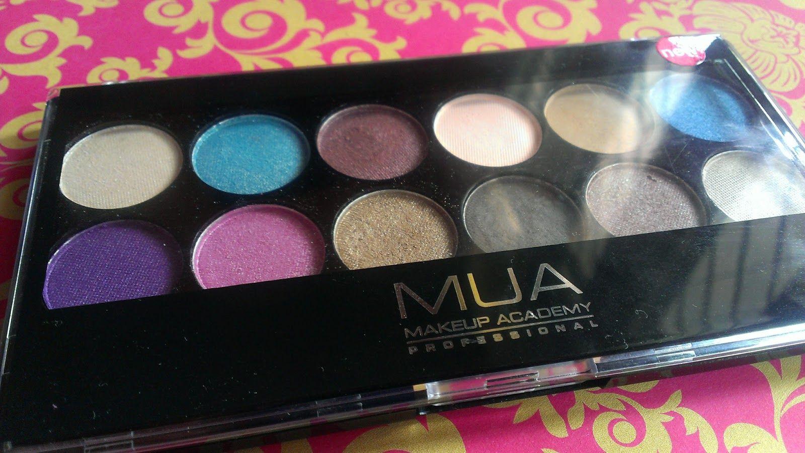 MUA 12 Shade Glamour Days Palette Glamour, Beauty