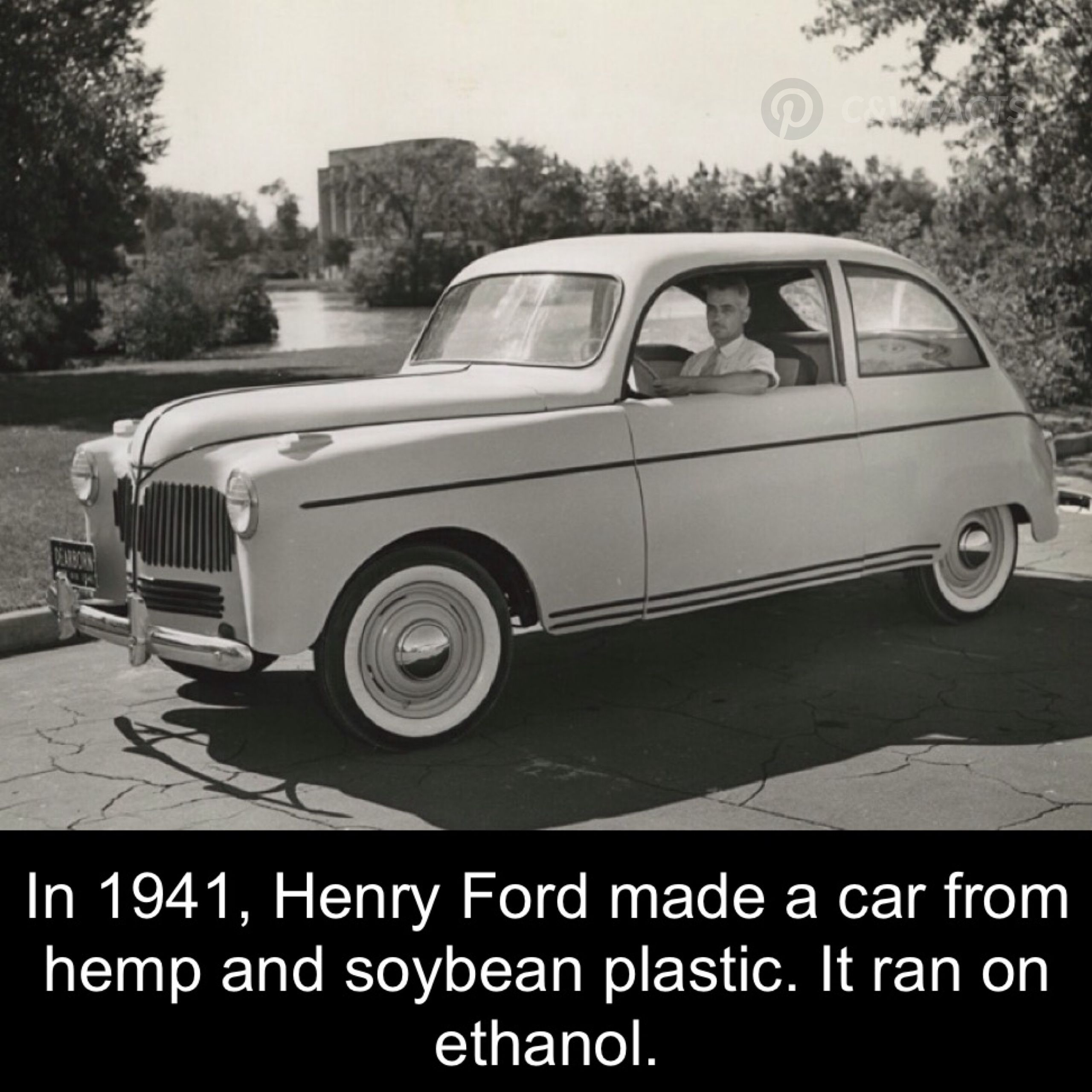 Henry Ford\'s car made if hemp and soybean plastic. | Cars and ...