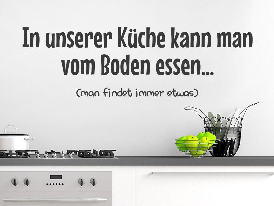 In unserer Küche kann man | Küchensprüche, Sprüche und Küche